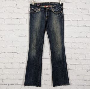 Lucky Brand Sweet Dream Bootcut Distressed Jean 25